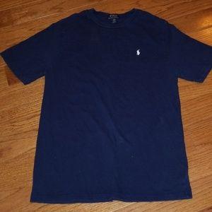 Youth Navy Blue Polo (Short Sleeve)